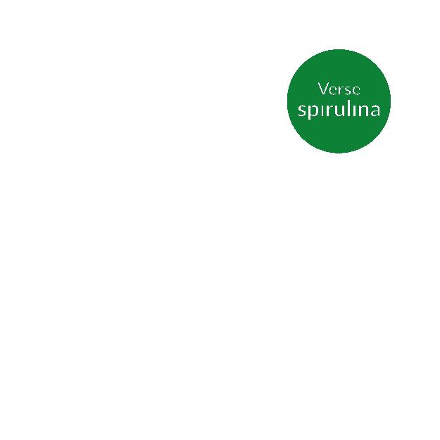Biet met verse Spirulina