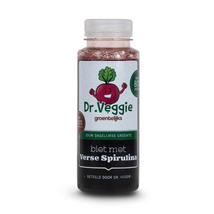 Biet spirulina groentesap van Dr.Veggie