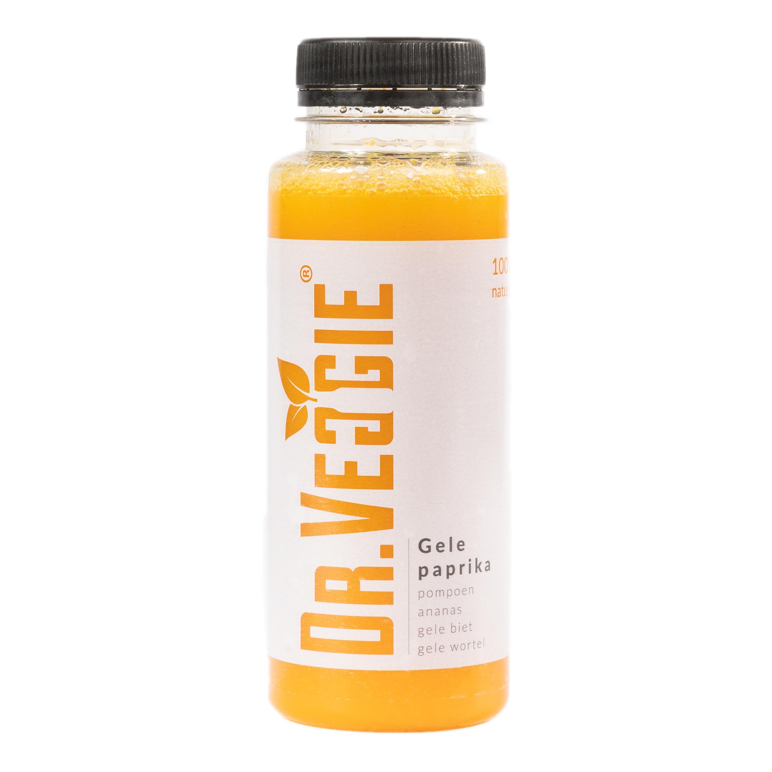 Groentesap Gele paprika ingredient Dr Veggie
