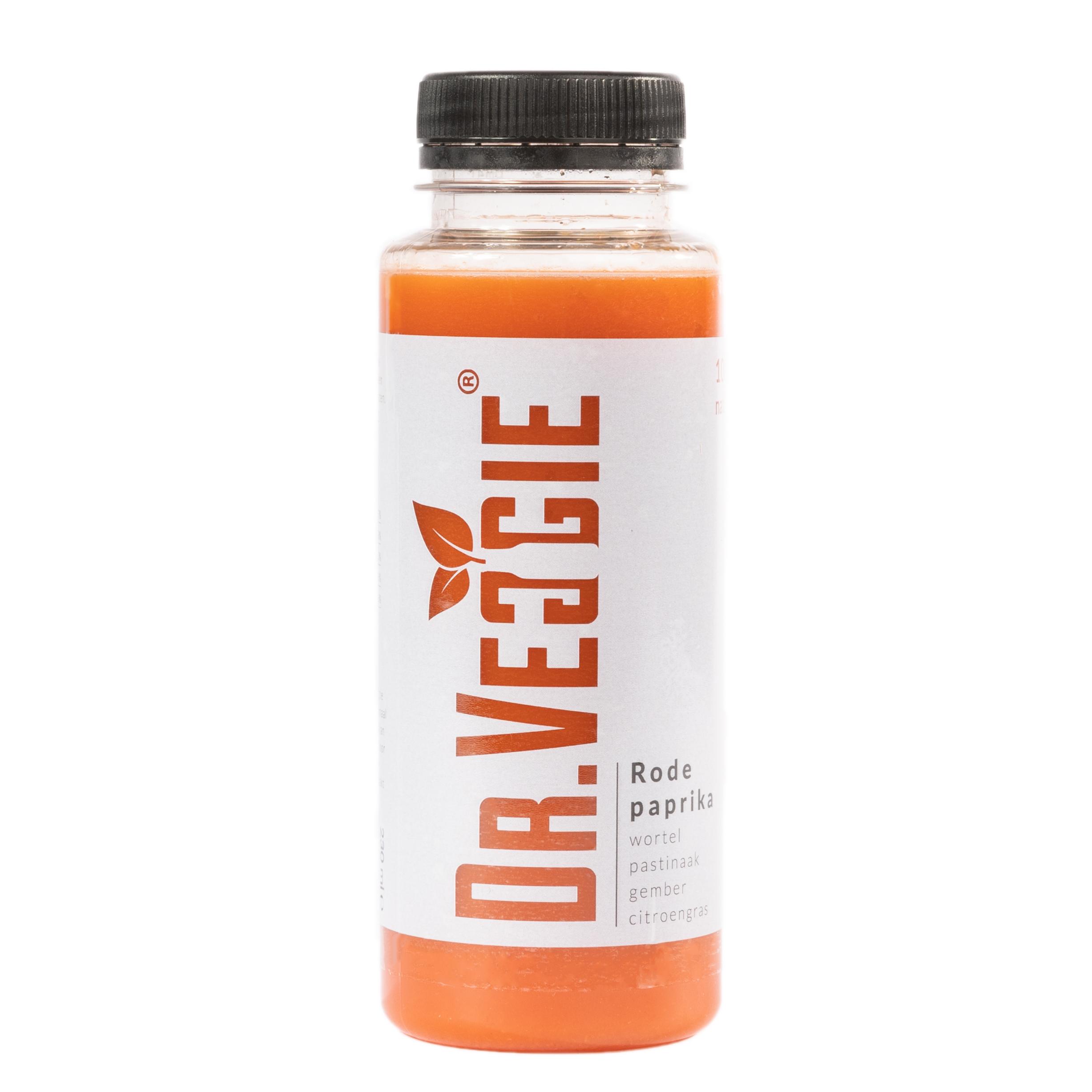 Groentesap Rode paprika ingredient Dr Veggie